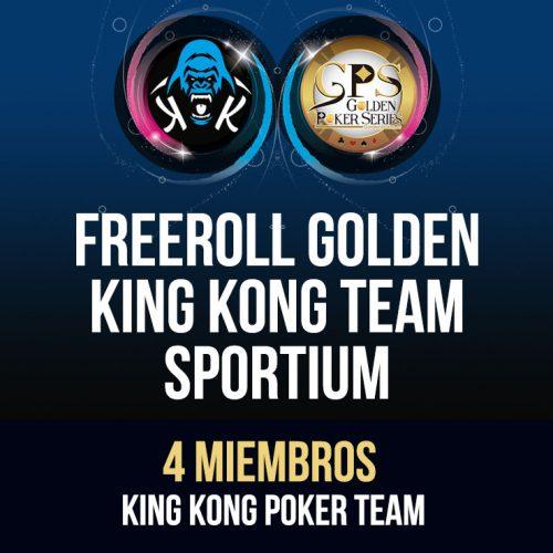 Promociones Golden Poker Series - King Kong Poker Team