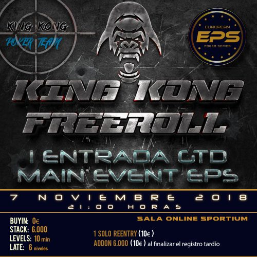 20181102_King_Kong_Poker_Freeroll_EPS_banner_web